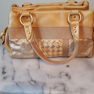 Bottega Veneta Gold and yellow purse
